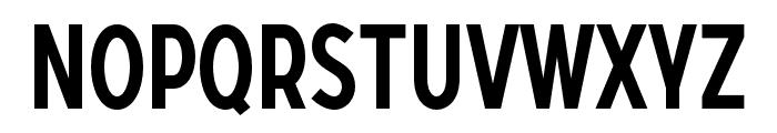 SONGERCondensed-Medium Font LOWERCASE