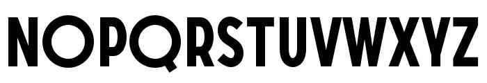 SONGERGrotesque-Bold Font UPPERCASE