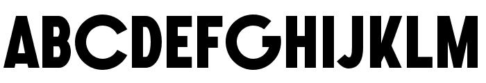 SONGERGrotesque-ExtraBold Font UPPERCASE