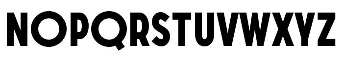 SONGERGrotesque-ExtraBold Font LOWERCASE
