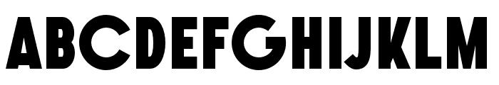 SONGERGrotesque-Heavy Font UPPERCASE