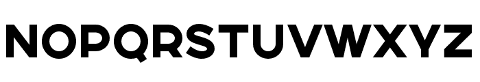 SONGERSemiExpanded-Heavy Font LOWERCASE