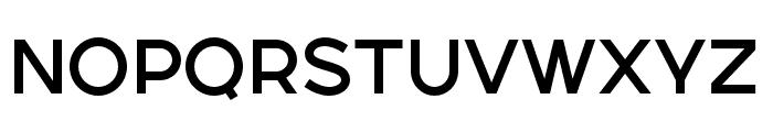 SONGERSemiExpanded-Medium Font UPPERCASE