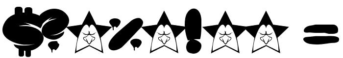 SOUPER3 Font OTHER CHARS