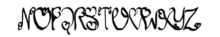 So Lovable Font UPPERCASE