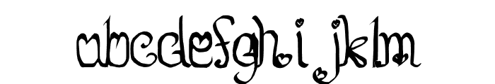So Lovable Font LOWERCASE