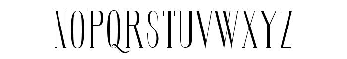 SoberbaSerif-Regular Font UPPERCASE