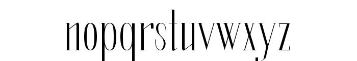 SoberbaSerif-Regular Font LOWERCASE