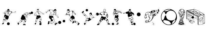 Soccer-Dance Font LOWERCASE