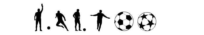 Soccer II Font OTHER CHARS