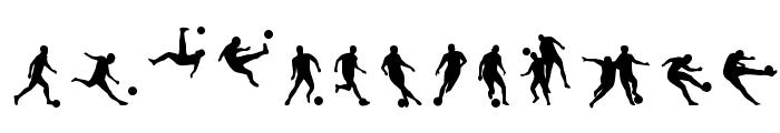 Soccer II Font UPPERCASE