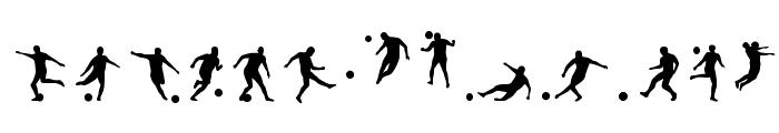 Soccer II Font LOWERCASE