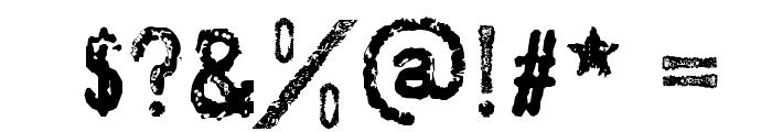 SociaLAnimaL Font OTHER CHARS