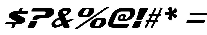 SofachromeRg-Italic Font OTHER CHARS