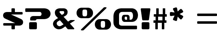 SofachromeRg-Regular Font OTHER CHARS