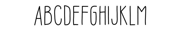 Sofia Amoti Starlight Font LOWERCASE