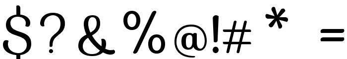 Sofia-Regular Font OTHER CHARS