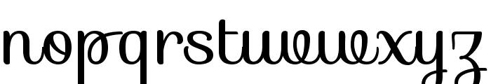 Sofia-Regular Font LOWERCASE