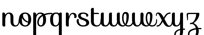 Sofia Font LOWERCASE