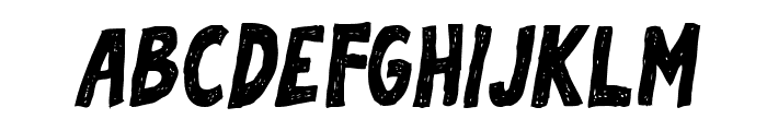 Sofija Italic Font UPPERCASE