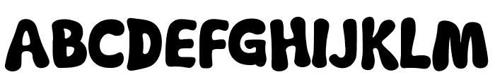 Soft Marshmallow Font UPPERCASE