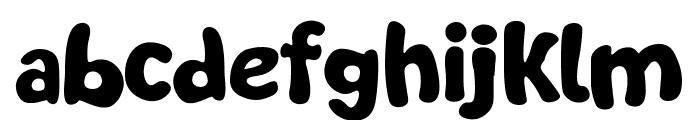 Soft Marshmallow Font LOWERCASE