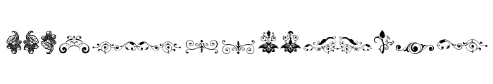 Soft Ornaments Eleven Font UPPERCASE