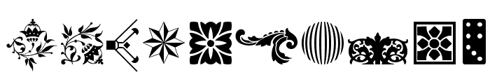 Soft Ornaments Sixteen Font OTHER CHARS