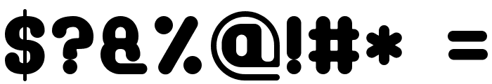 Soft Sans Serif 7 Font OTHER CHARS