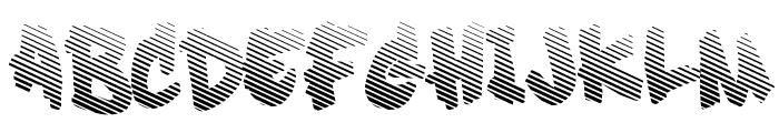 Soft Sugar [fade] Font UPPERCASE