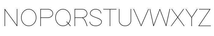 SoftLine Font UPPERCASE