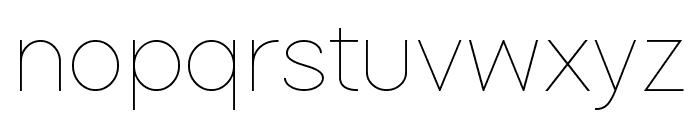 SoftLine Font LOWERCASE