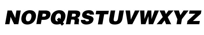 SoftMicro Font UPPERCASE