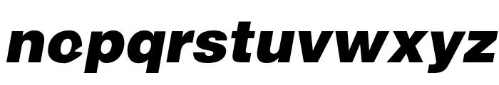 SoftMicro Font LOWERCASE