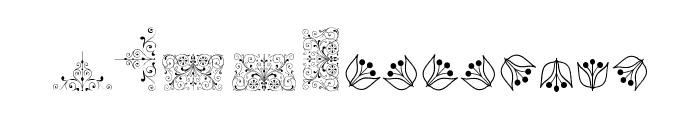 SoftOrnamentsFive Font UPPERCASE