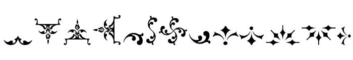 SoftOrnamentsFive Font LOWERCASE