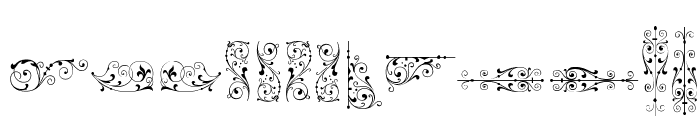 SoftOrnamentsSeven Font UPPERCASE