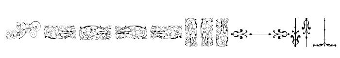 SoftOrnamentsSeven Font LOWERCASE