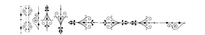 SoftOrnamentsSix Font OTHER CHARS