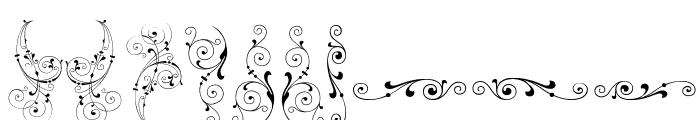 SoftOrnamentsThree Font OTHER CHARS