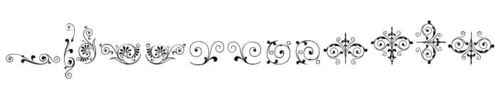 SoftOrnamentsThree Font UPPERCASE