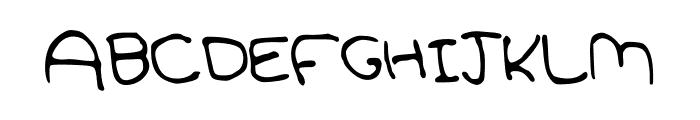 SoftPetals Font UPPERCASE