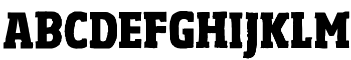 Sohoma ExtraBold Condensed Font UPPERCASE