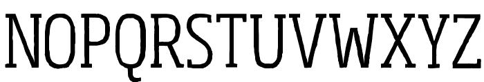 Sohoma Light Condensed Font UPPERCASE