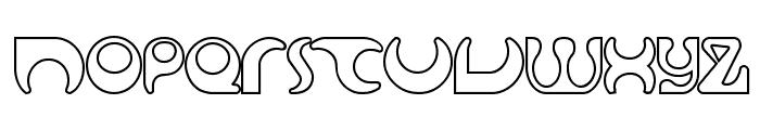 Solange seethrough Font LOWERCASE