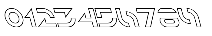 Solar Sailer Outline Italic Font OTHER CHARS