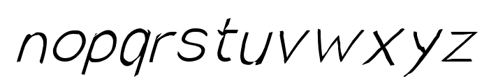 SolarCharger 152 Hairline Font LOWERCASE