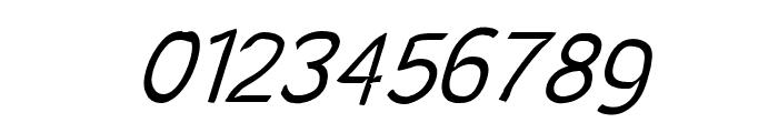 SolarCharger 352 Light Oblique Font OTHER CHARS