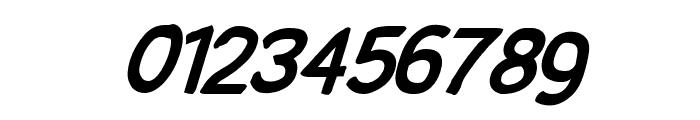 SolarCharger 952 Black Oblique Font OTHER CHARS