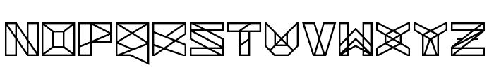 Solarium Font UPPERCASE